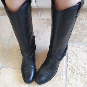 Frye Melissa Button Boot Western